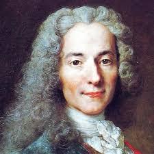 Voltaire, pe numele său adevărat: François-Marie Arouet