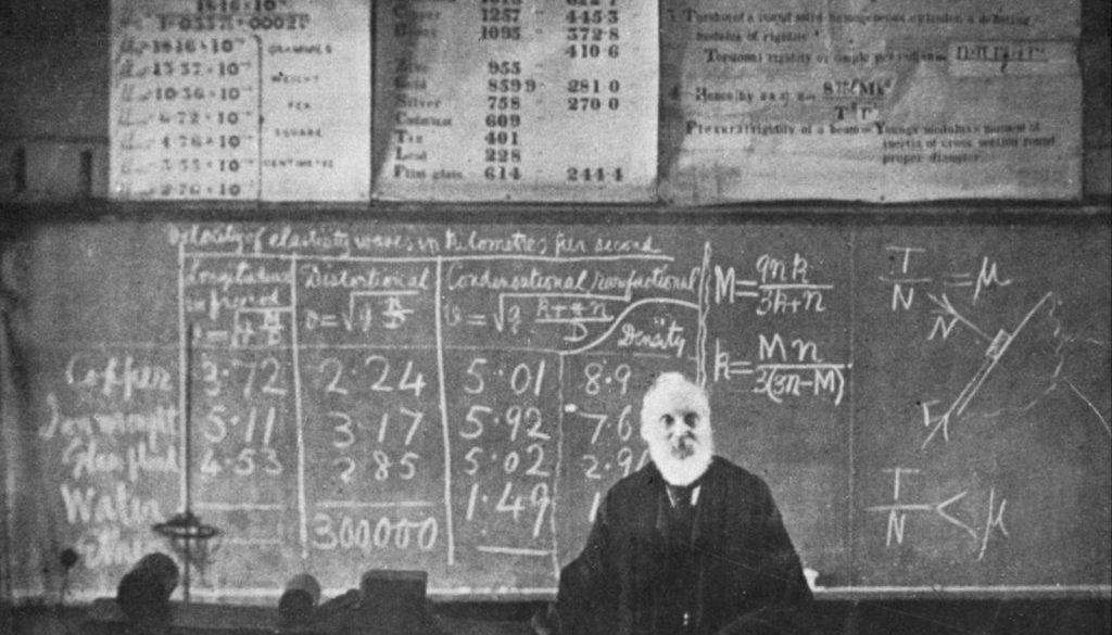 Baron-Kelvin-William-Thomson-lecture-University-of-1899