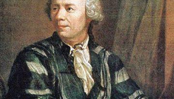 Portretul lui Leonhard Euler de Jakob Handmann (1756)