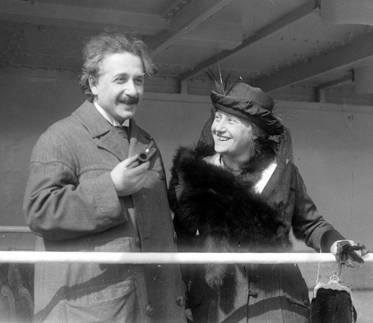 Albert și Elsa Löwenthal
