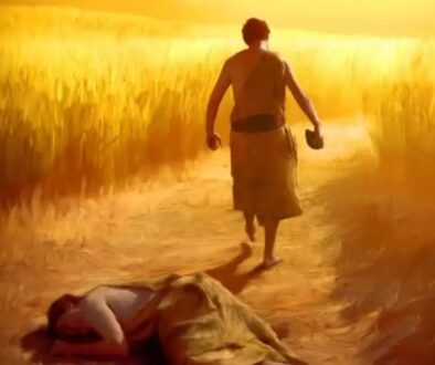 Coșmarul lui Cain după uciderea fratelui său. Învierea lui Abel, învierea tuturor oamenilor…